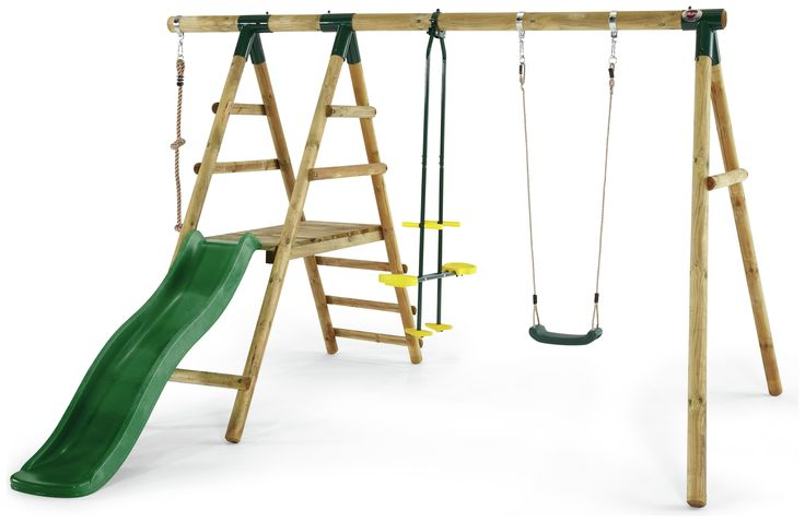 Plum Meerkat Wooden Garden Swing and Climbing Frame.: Let the adventures begin with this fun wooden swing set… #UKOnlineShopping #UKShopping