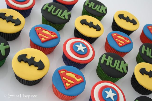 Marvel Avengers Cupcakes
