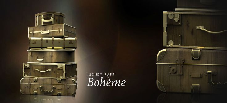 #bocadolobo #luxurysafes Bohème Luxury Safe