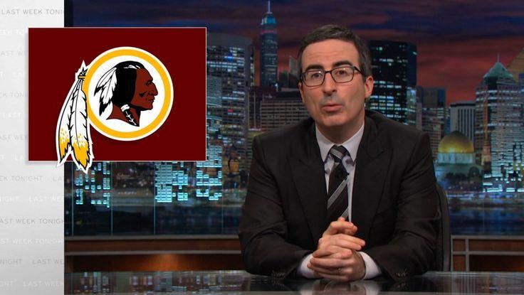 Washington Redskins on LAST WEEK TONIGHT WITH JOHN OLIVER: EPISODE 33 (2015) @redskinsdotcom