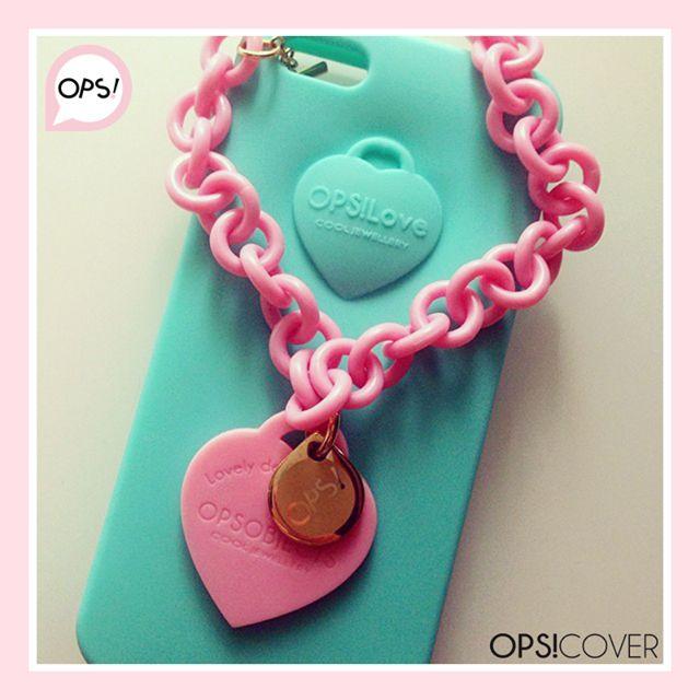 OPS! LOVE phone cover per iphone 4/5 e samsung s3/s4  Gioielleria Zimarino