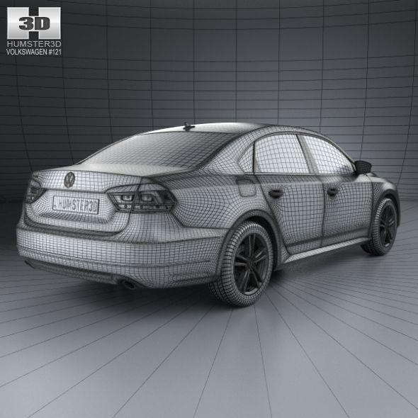 Volkswagen Passat B7 With Hq Interior 2011 Honda Accord Touring Nissan Maxima Bmw M4