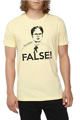The Office Dwight False T-Shirt - 114673    want in my size!!!