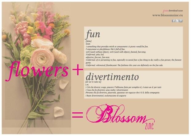 A free gift for mom..  a new magazine Blossomzine.eu