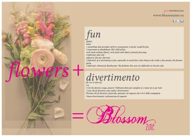A free gift for mom..   a new magazine Blossomzine.eu