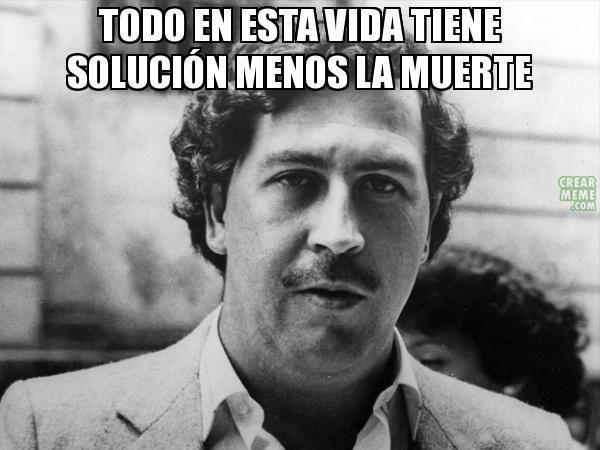 16 frases que llevaron a Pablo Escobar Gaviria a ser el narcotraficante más poderoso del mundo – santiago_sarceda – El Meme
