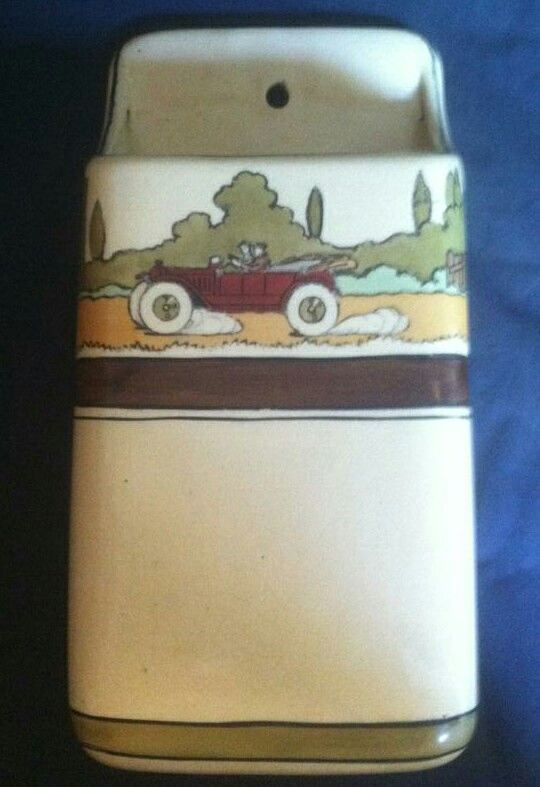 Roseville Pottery - Tourist - Wallpocket