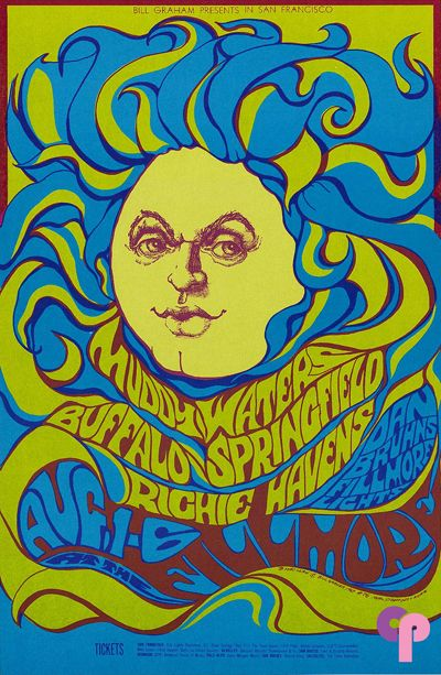 Muddy Waters, Buffalo Springfield, Richie Havens