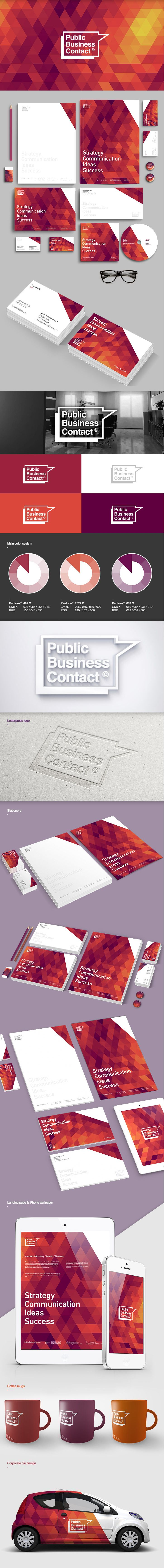 PBC© corporate identity concept                                                                                                                                                                                 More