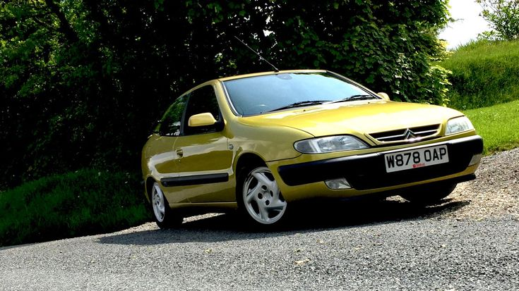 I've bought a Citroën Xsara VTS in Claudia Schiffer Yellow - PetrolBlog