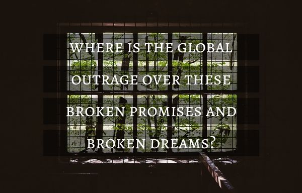"""where is the global outrage over these broken promises and broken dreams?"" - http://www.cnn.com/2015/04/14/opinions/sesay-bring-back-our-girls-one-year-on/ #BBOG #lifeisbeautiful"
