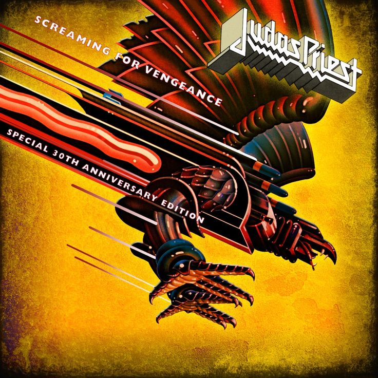 Judas Priest/Screaming For Vengeance 30th anniversary poster - artwork by Doug Johnson