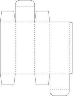 "Tall Skinny Box (1 x 5""): Template & Printable Patterns - Splitcoaststampers"