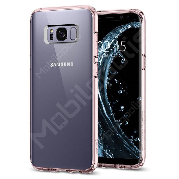 Kryt na Samsung Galaxy S8 Spigen Ultra Hybrid růžový