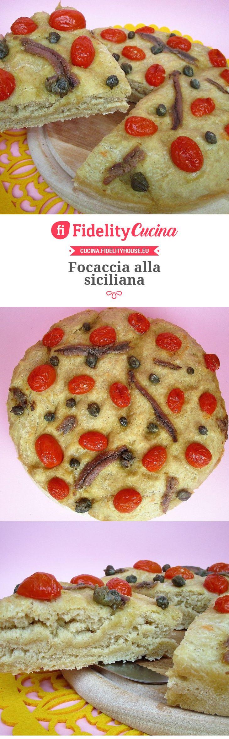 Focaccia alla siciliana
