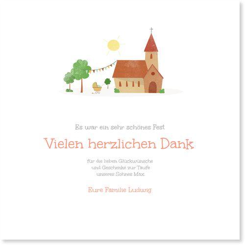 #Taufe #Dankeskarten / #Dankeskartentaufe