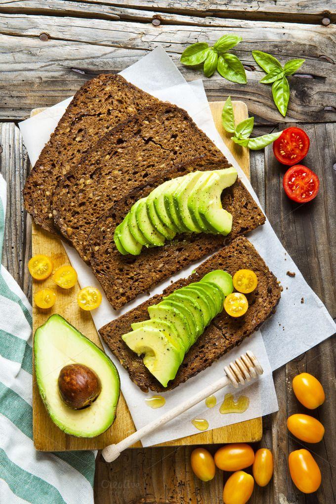 sandwich with rye bread by IriGri on @creativemarket