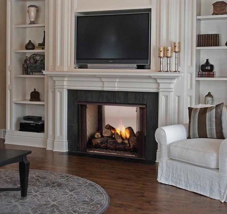 Direct vent fireplace and Fire places