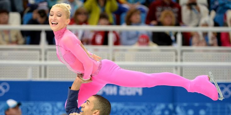 Aliona Savchenko, Olympic Figure Skater's Hot Pink Catsuit Is Everything