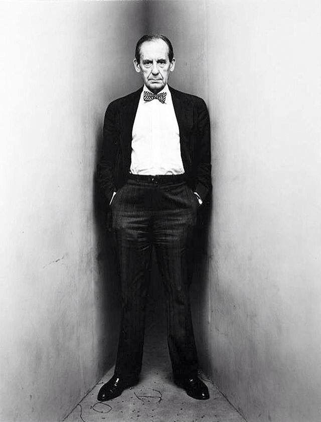 Walter Gropius - Bauhaus Design and Architecture. Photo by Irving Penn. Zippertravel.com