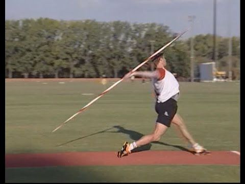 Javelin Throw - How Andreas Thorkildsen improved his technique - YouTube