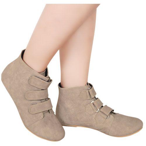 Toko Online Fashion Wanita - Jual Beli Sepatu Boots Runa Krem http://www.slightshop.com/produk/sepatu-boots-runa-krem/