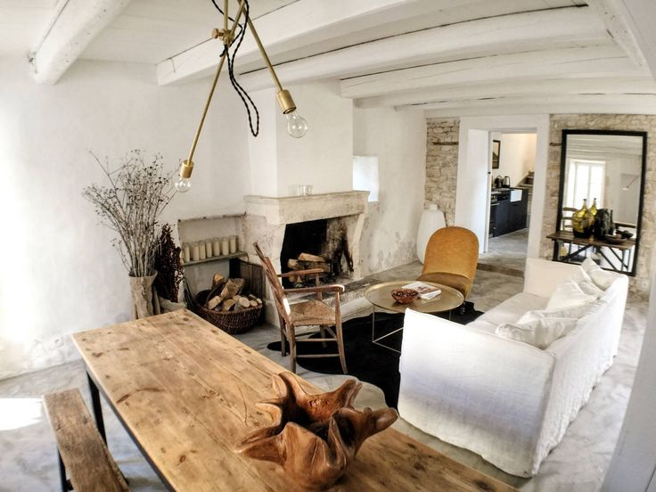 Steal This Look: Living Room at La Maison du Figuier in France: Remodelista