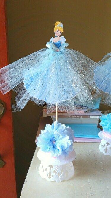 Cinderella centerpiece                                                                                                                                                     More
