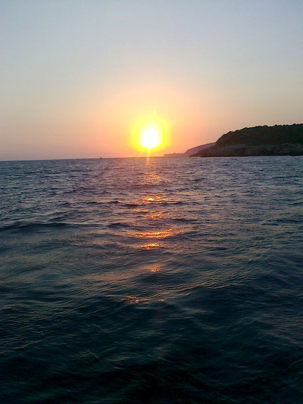 #Sunset during a Boat trip around #Kalkan
