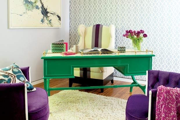 Color!  A Warm Front | California Home + Design