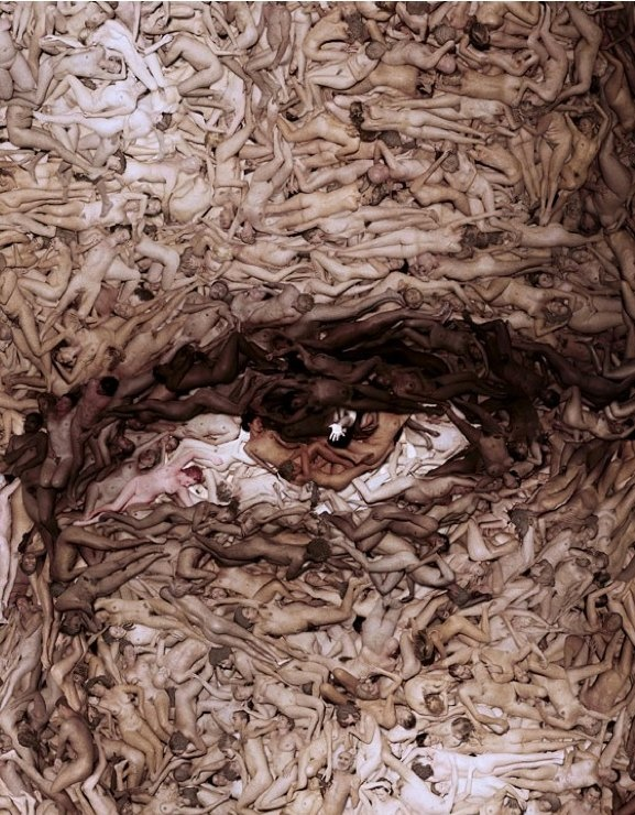 Reminiscent of Dante's Inferno...  Spencer Tunick    chapter 59