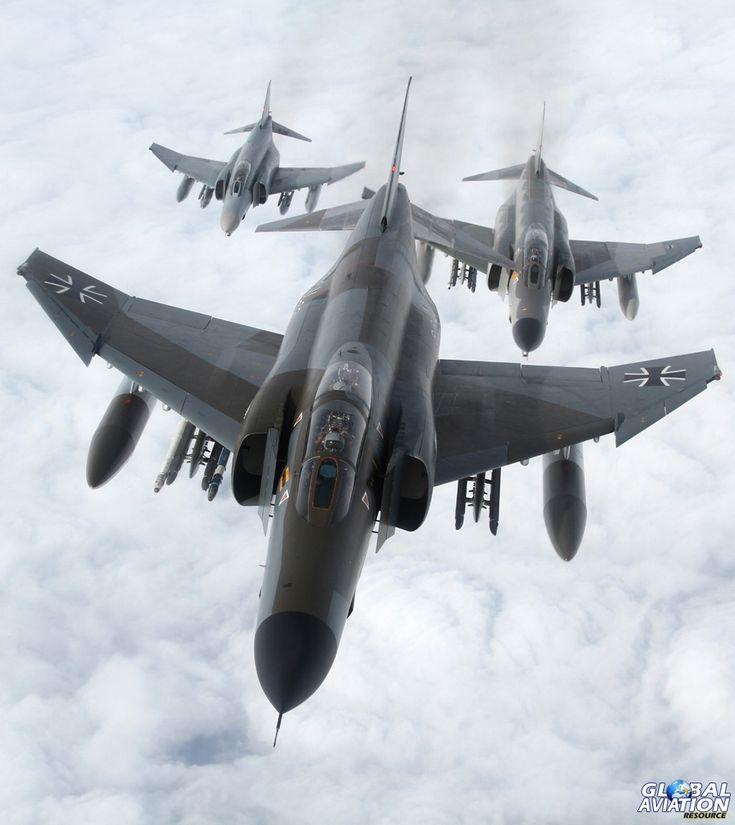 Final flight for German F-4's