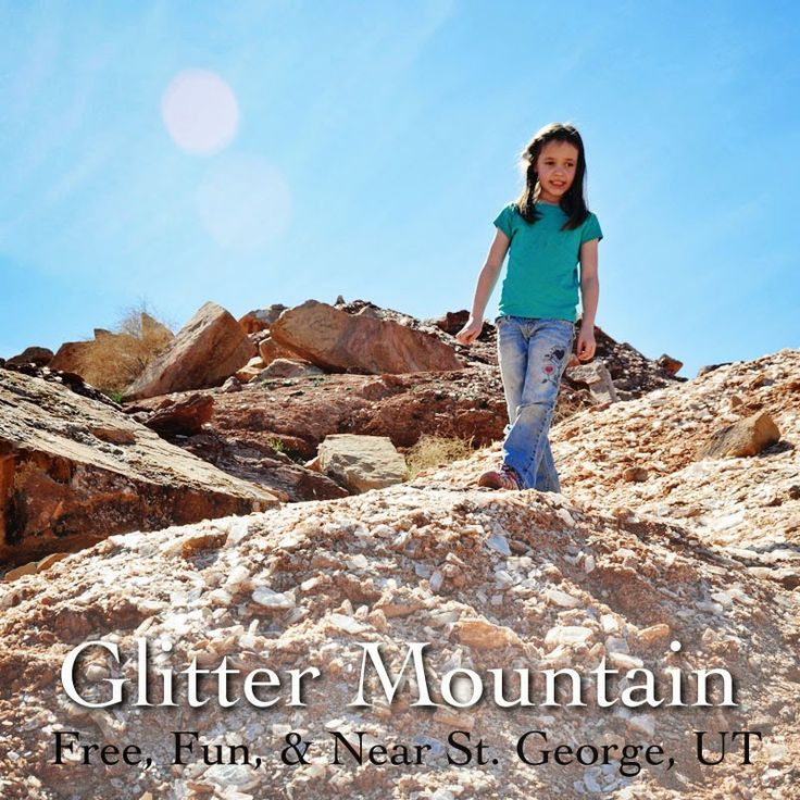 Holly Brooke Jones: Glitter Mountain near St. George, Utah