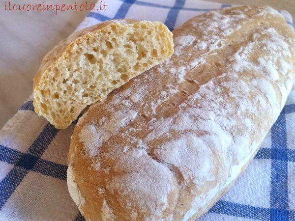 Pane Ciabatta - Ricette di cucina Il Cuore in Pentola