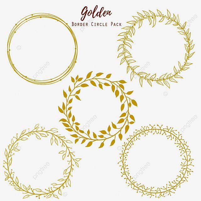 Golden Circle Grinalda Clipart Ouro Imagem Png E Psd Para Download Gratuito Circle Clipart Wedding Frames Frames Design Graphic