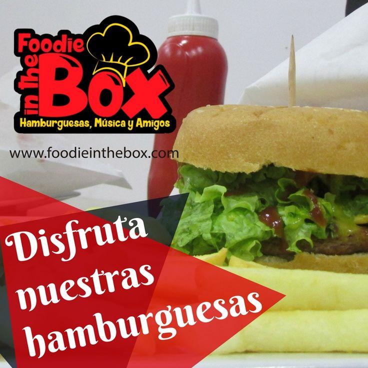 #FoodieInTheBox Prueba una deliciosa hamburguesa con pan sin conservantes y la mejor carne. http://foodieinthebox.com/