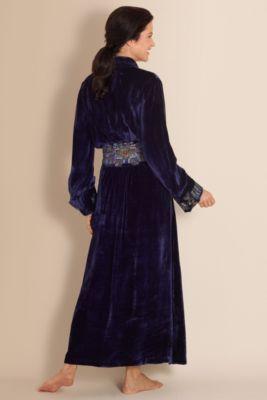 """vintage"" Starlet Robe I - Misses Size Bath Robes, Misses Sleepwear | Soft Surroundings"