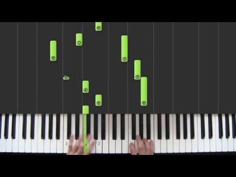 Hallelujah - Refrain - leçon 8 - Cours de piano facile pour débutants - YouTube