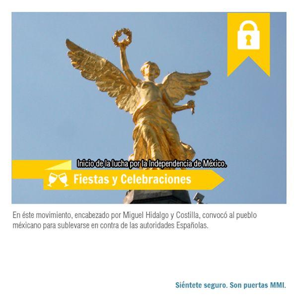 Hoy conmemoramos el Inicio de la Independencia que encabezó el cura Miguel Hidalgo y Costilla