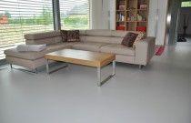 POlyuretanová podlaha Flode Uno, obývací pokoj Baška