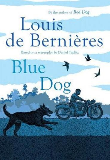 Blue Dog by Louis de Bernieres.  A charming story of a young boy and his dog adventuring through the outback. Prequel to the bestselling Red Dog.When a family tragedy means Mick is sent to the outback to live with his Granpa, it looks as if he has a lonely life ahead of him. The cattle station is a tough place for a child, where nature is brutal and the men must work hard in the heat and dust. However, after a cyclone hits, things change for Mick. He finds a lost puppy in flood waters.