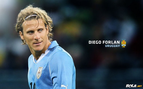 diego forlan! the best  The Uruguayan soccer team has 4 Diegos...