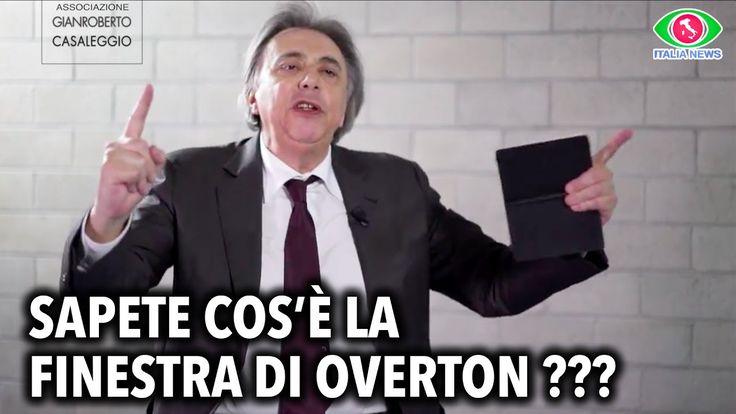 """VERITÀ E INFORMAZIONE: SAPETE COS'È LA """"FINESTRA DI OVERTON"""" ??? - CARLO..."""