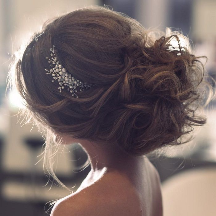 Best 25 Wedding Updo Ideas On Pinterest: Best 25+ Messy Wedding Hair Ideas On Pinterest