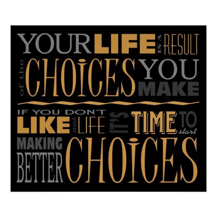 Customizable #Accountability #Change #Choice #Choices #Inspiration #Inspirational #Life #Motivational #Responsibility #Subway Choices Motivational Quote Poster available WorldWide on http://bit.ly/2fAliQT