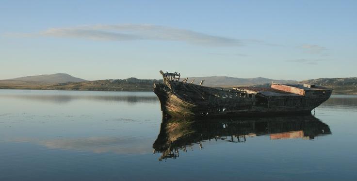 shipwreck, Stanley, Falkland Islands #greatwalker