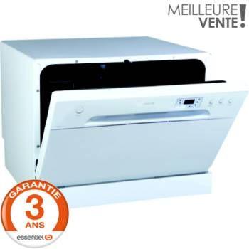 Découvrez l'offre  Lave-vaisselle compact Essentielb ELVC 491b avec Boulanger. Retrait en 1 heure dans nos 131 magasins en France*.