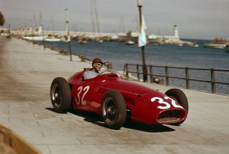 1957 Juan Manuel Fangio - Maserati 250F - Monaco