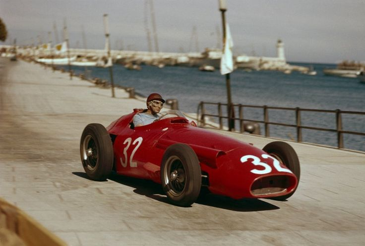 Juan Manuel Fangio - Maserati 250F - Monaco - 1957