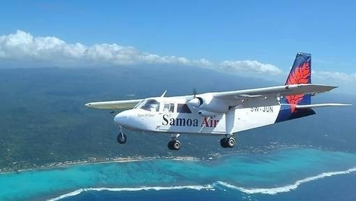 Samoa Airlines is the first airline in the world to charge passengers by their weight.